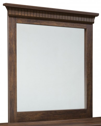 Weatherly Textured Two-Tone Panel Mirror