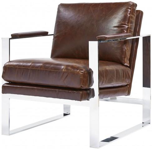 Corbin Brompton Milled Accent Chair