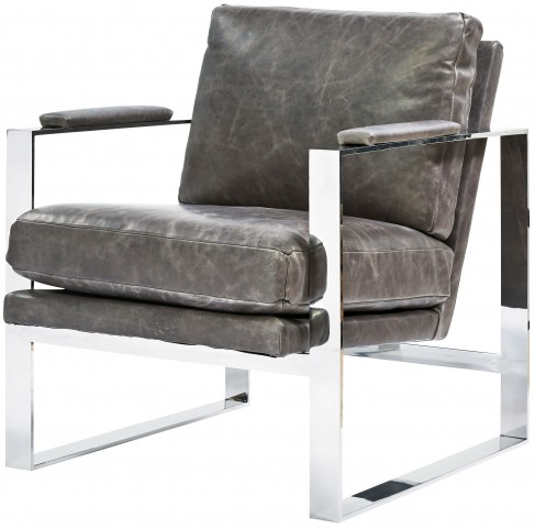 Corbin Brentwood wolf Accent Chair