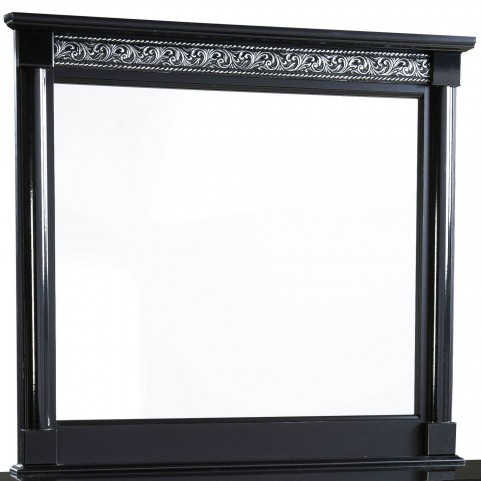 Venetian Black Mirror