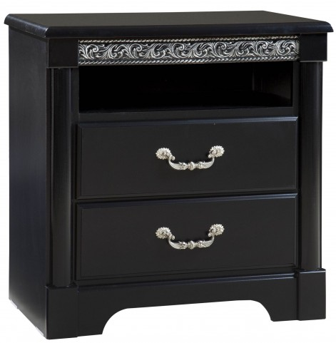 Venetian Black TV Chest