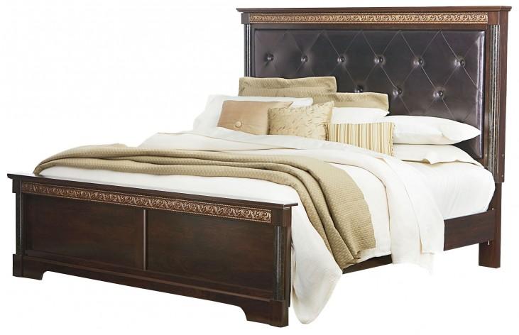 Venetian Queen Panel Bed