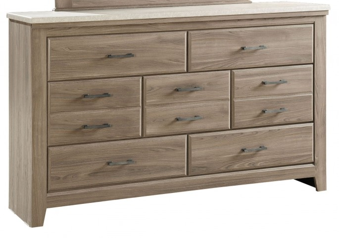 Stonehill Weathered Oak 7 Drawer Dresser