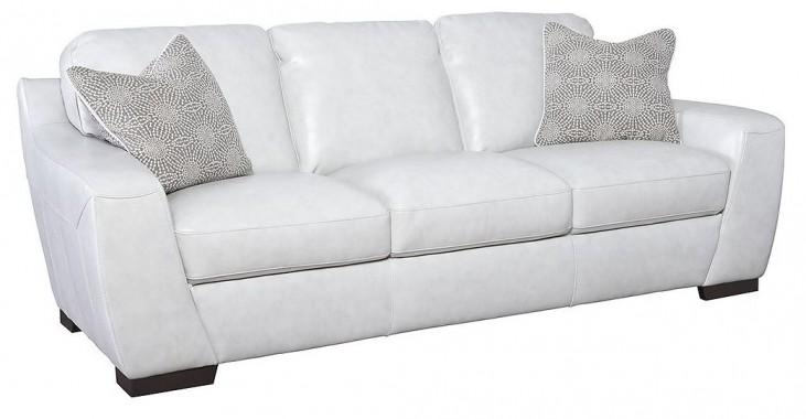 Alpha White Sofa