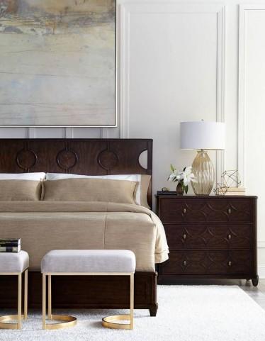 Virage Truffle Panel Bedroom Set