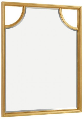 Virage Antique Gold Leaf Portrait Mirror