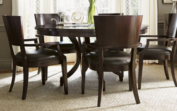Kensington Place Beverly Glen Round Dining Room Set