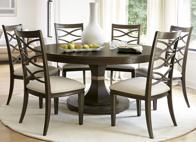 California Hollywood Hills Round Dining Room Set