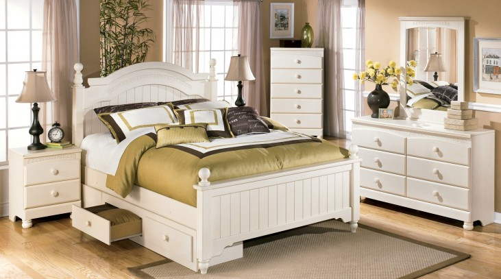 Cottage Retreat Youth Poster Storage Bedroom Set