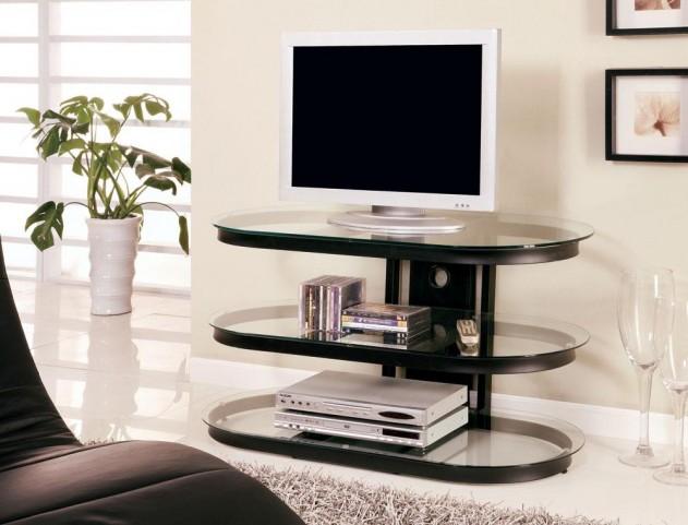 Black TV Console 700611