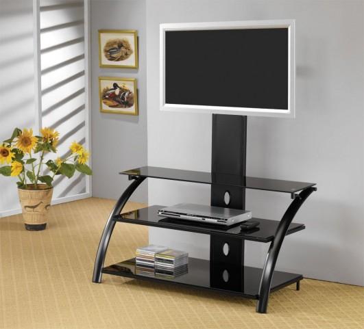 Black TV Console 700617