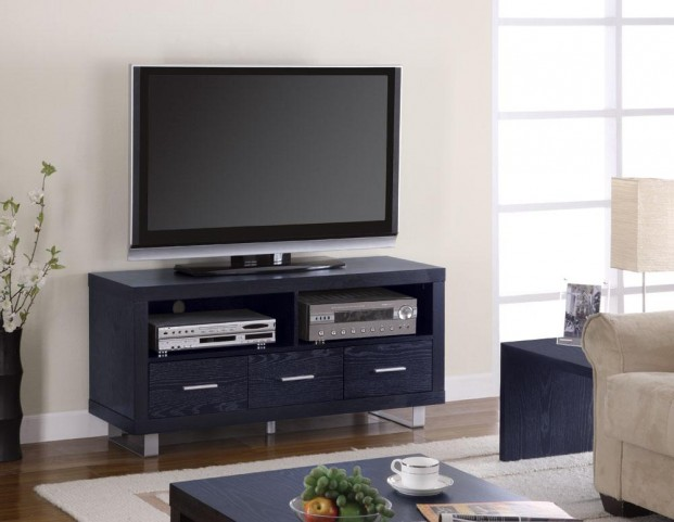 Black TV Console 700644