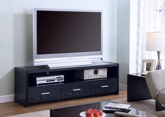 Black TV Console 700645