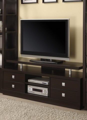 Cappuccino Tv Stand 700696