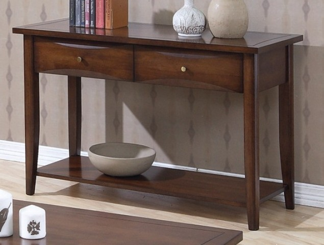 Whitehall Brown Sofa Table