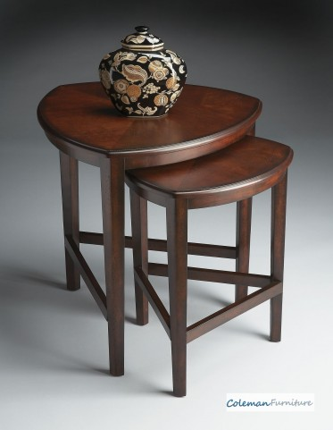 Chocolate Nesting Tables