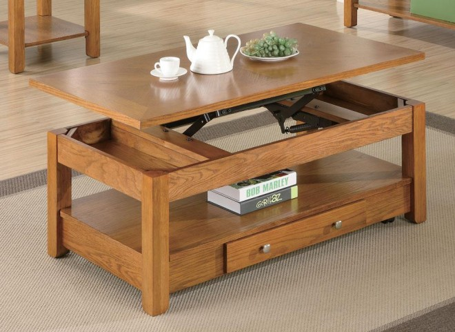 Oak Coffee Table 701438