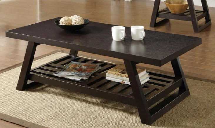 Cappuccino Coffee Table 701868