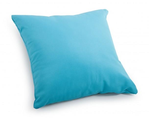 Laguna Sky Blue Large Pillow