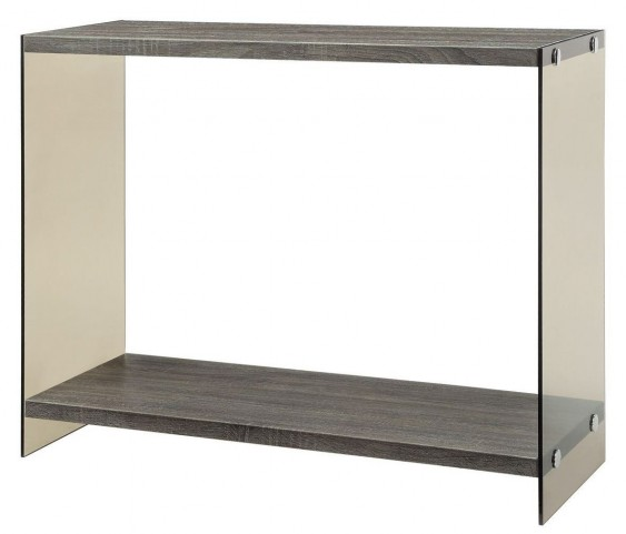 701969 Glass Sides Sofa Table