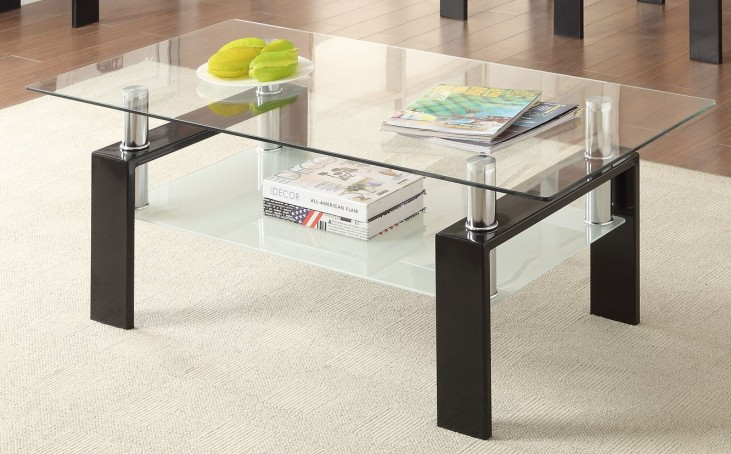 702288 Black Coffee Table
