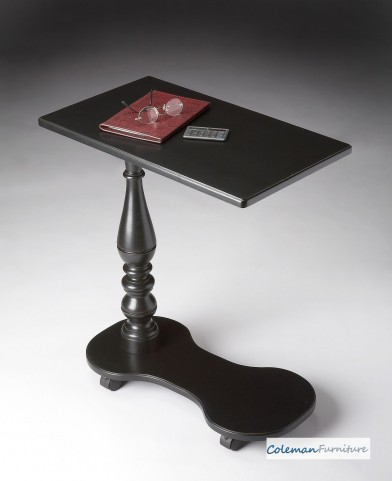 Black Licorice Mobile Tray Table