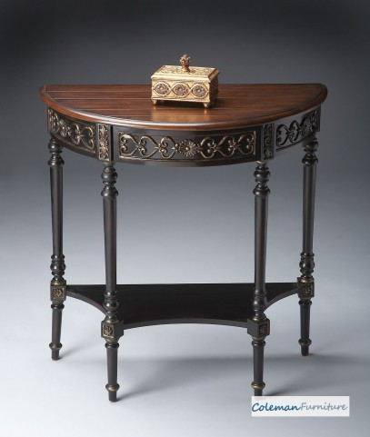 Cafe Nouveau Demilune Console Table