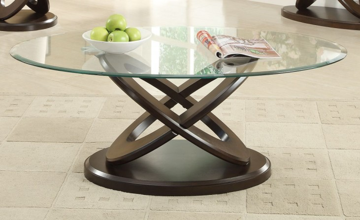 702788 Espresso Coffee Table