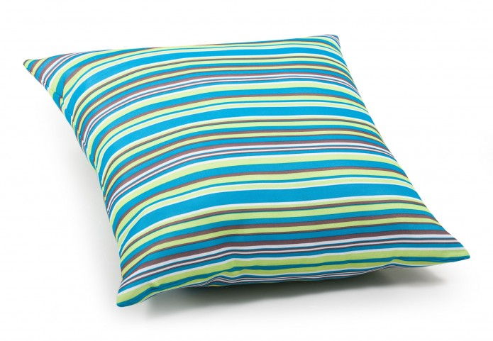 Puppy Multicolor stripe Large Pillow