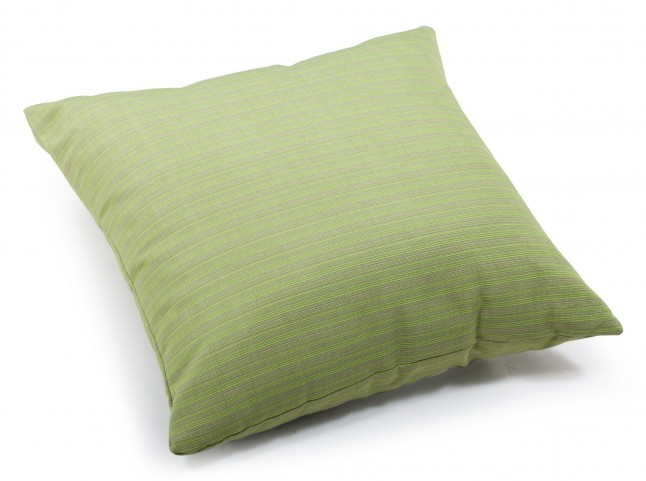 Cat Apple Green Linen Large Pillow