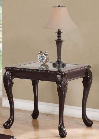 703397 Cappuccino End Table