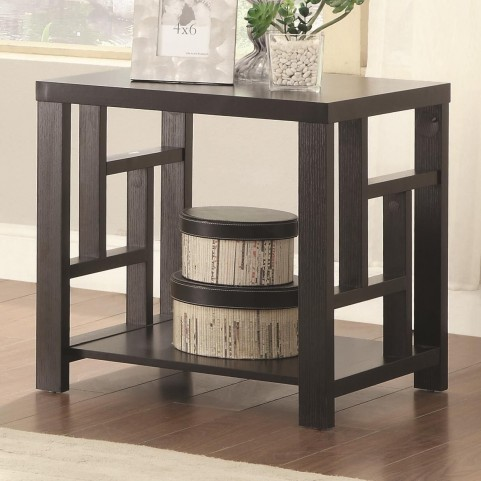 703537 Cappuccino End Table