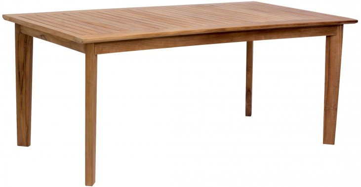 Nautical Natural Rectangular Dining Table