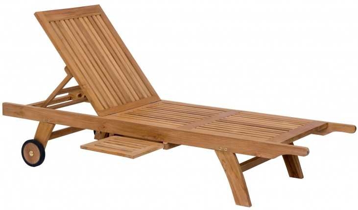 Starboard Natural Chaise Lounge