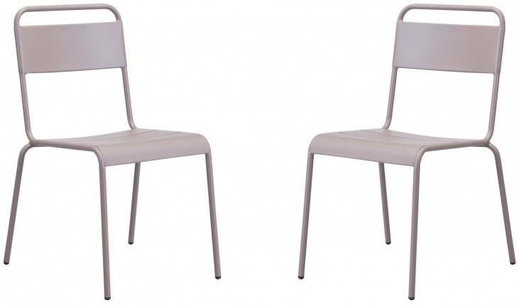 Oh Taupe Dining Chair Set of 2