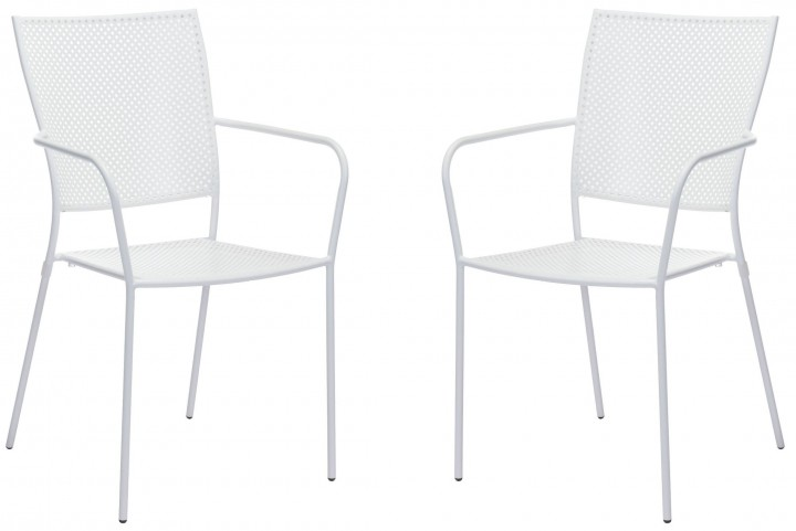 Pom White Dining Chair Set of 2