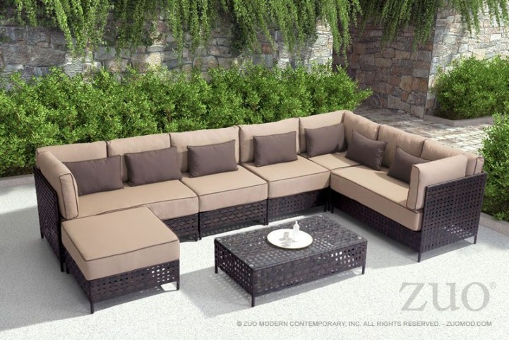 Pinery Brown & Beige Sectional