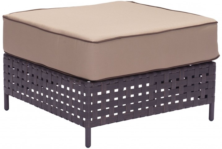 Pinery Brown & Beige Ottoman