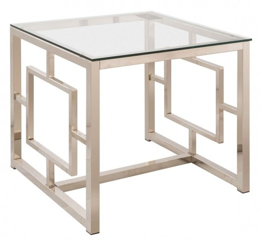 703737 Satin Nickel End Table