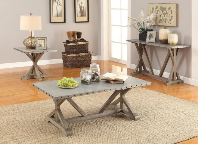 Driftwood Occasional Table Set