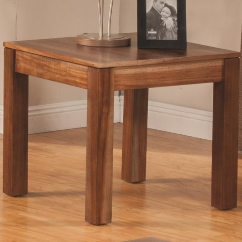 703917 Natural Brown End Table