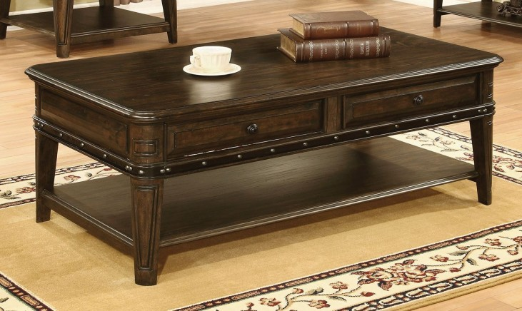 Dull Black Coffee Table