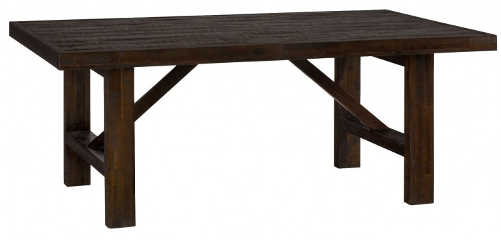 Kona Grove Rustic Chocolate Dining Table