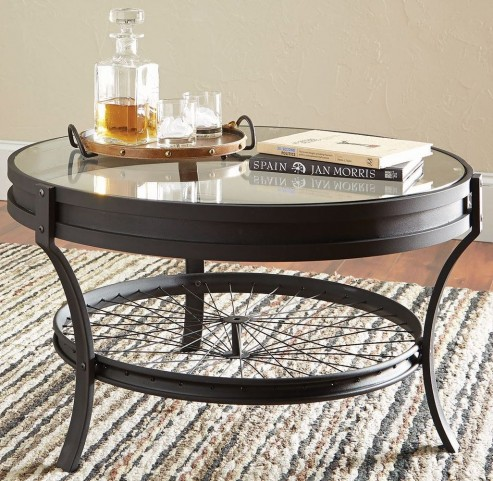 Sandy Black Coffee Table