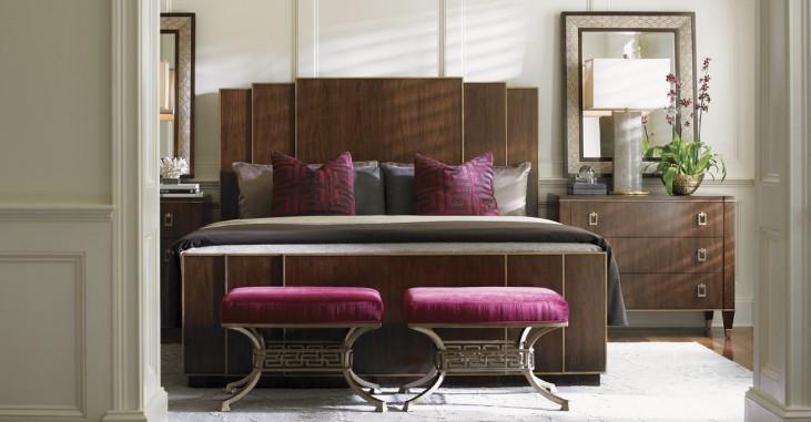 Tower Place Fairmont Panel Bedroom Set