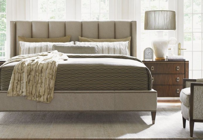 Tower Place Barrington Upholstered Platform Bedroom Set
