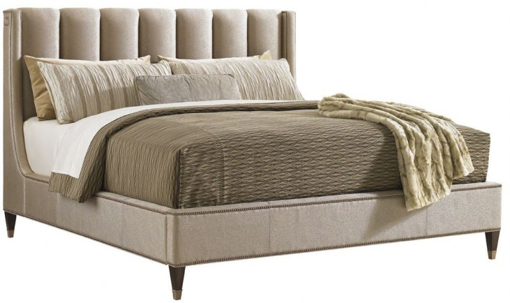 Tower Place Barrington Cal. King Upholstered Platform Bed