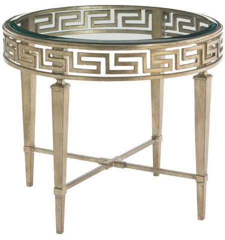 Tower Place Aston Round Lamp Table