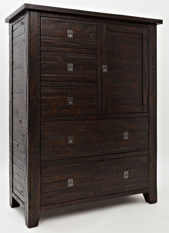 Kona Grove Rustic Chocolate 5 Drawer Cabinet Chest