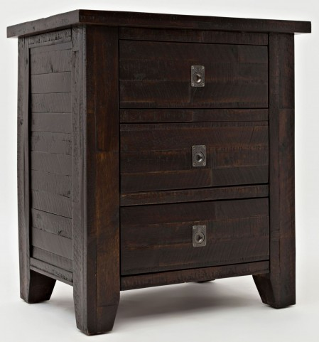 Kona Grove Rustic Chocolate Nightstand